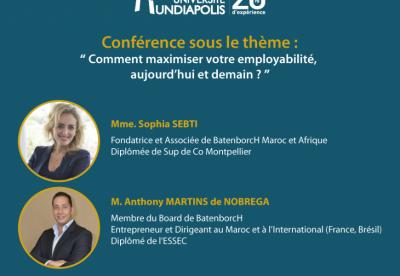 Université Mundiapolis – Conférence-students.ma