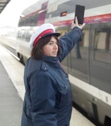 Agent d'escale ferroviaire